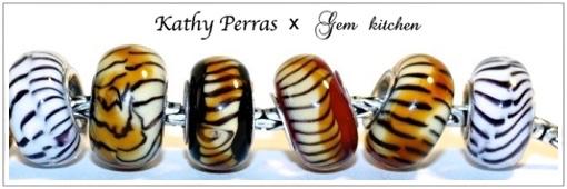 Kathy Perras Troll Tiger Beads トロール タイガービーズ